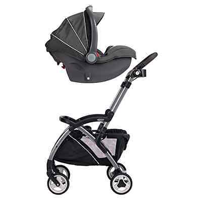 Graco Snugrider Elite Stroller Car Seat Carrier Black 2015 Baby Kid Travel