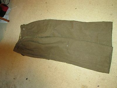 Cold War British Hairy Mary Battledress Trousers Size 1