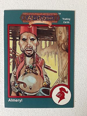 1993 Advanced Dungeons & Dragons RARE red bordered card Almeryl al-Shap #374