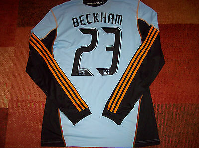 2010 MLS All Star David Beckham L/s Player Issue Formotion Football Shirt Sz L