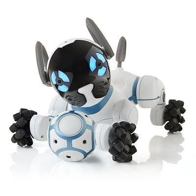 Brand New Wowwee Chip Robot Toy Dog - White