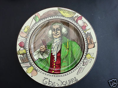 """Royal Doulton """"The Squire"""" plate"""
