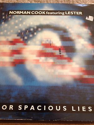 Norman Cook Featuring Lester - For Spacious Lies - 12 Inch