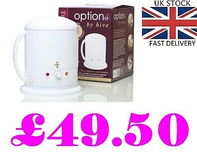 THE HIVE NO 1 WAX POT HEATER WARMER 1 LITRE HOB5000 hair removal paraffin warm