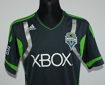 SEATTLE SOUNDERS away MLS shirt jersey ADIDAS trikot maillot maglia camiseta M