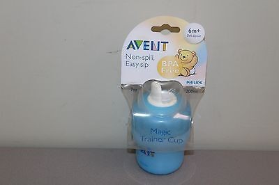 Philips AVENT BPA Free Toddler Cup with Handles, 7 Ounce-Blue Cup