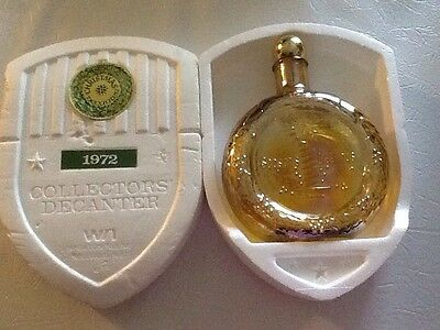 Wheaton Glass Limited Edition Collectors Decanter Christmas 1972 Decanter/bottle