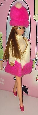 Topper Dawn Doll Glori Wearing Furry Flounce Excellent