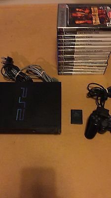 PlayStation 2 Bundle With 15 Games Ps2