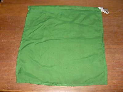 B.r.steam Era Guards Green Flag Complete With Wooden Handle In Used Condition