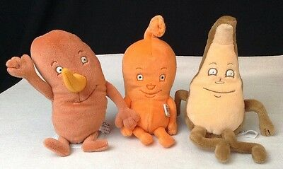"""Lot Of Pharmaceutical Promo ACTOS 9"""" Stuffed Plush Stomach Kidney & Liver Organs"""