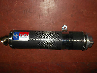 96 97 98 D&d Carbon Honda Cbr900 Rr Fireblade Exhaust End Can