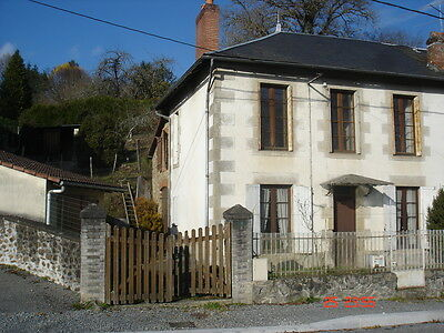 St Priest Taurion 10 Mins Limoges Stone Semi Detached House In Fantastic Village