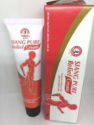Siang Pure Relief Cream 30g Tube - Muscle Pain  Knee Pain Sports Injuries