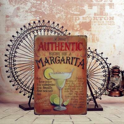 AUTHENTIC Metal Vintage Tin Plaque Pub Decor Bar Sign Wall Poster Shop
