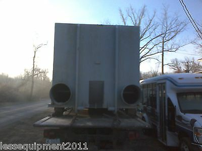 40 yard rolloff container used for carbon cleanouts