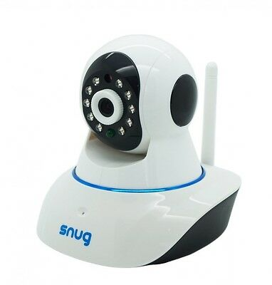 Snug Baby Monitor for Smartphones Tablets Wifi Camera Android/Apple iOS
