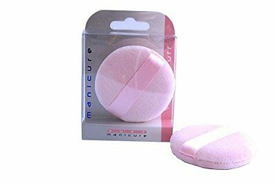 Sure Health & Beauty Pink Velour Face Powder Puff - Make Up Applicator