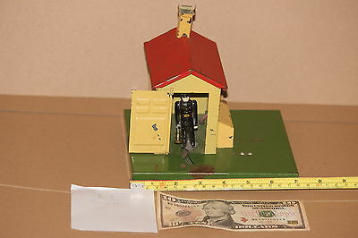 Russian railway house as Lionel for gauge 1 or 0  . TIN toy . Russia