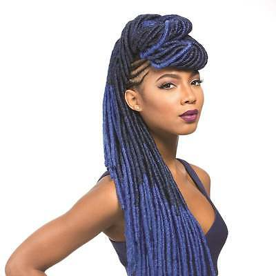 Sensationnel African Collection, Faux Lock,18inches