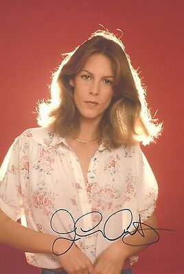 """Genuine 12""""x8"""" Hand Signed Photograph of Jamie Lee Curtis & COA"""