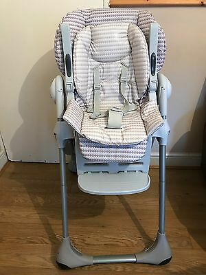 chicco polly highchair 2 In 1 High Chair-Cream Unisex
