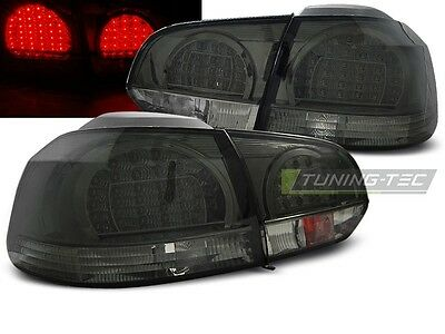New Set Rear Tail Lights Rht Ldvwb7 Vw Golf 6 10.2008-2012 Smoke Led