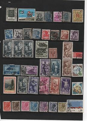 Italy stamp selection