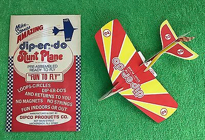 Vintage Mike Stones Amazing DIP-ER-DO Stunt Planes. Dipco Products Co. & GIFT!
