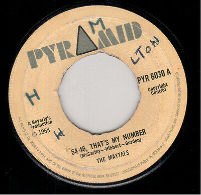 Maytals - 54-46 Is My Number - Pyramid