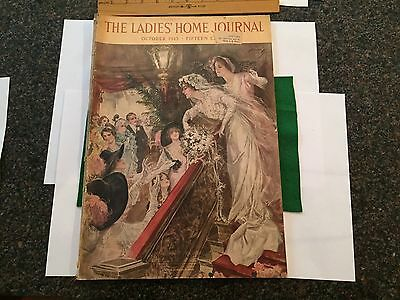 1913 Ladies Home Journal-Illustrations by Harrison Fisher-great advertising!!