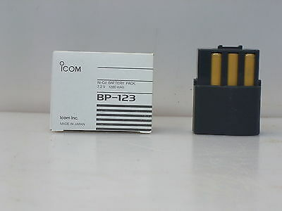 ICOM battery pack BP-123  NOS as is for IC2iA