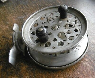 Vintage Centrepin Fishing Reel - Repair Use Collect Display Parts Restore Etc