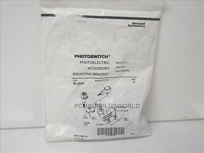 60-2649 Allen Bradley photoelectric mounting bracket for 18mm sensors (New)