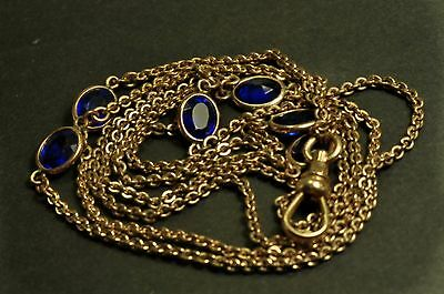 Gorgeous  Antique gold filld  Pocket Watch  double Chain fob 32 inch