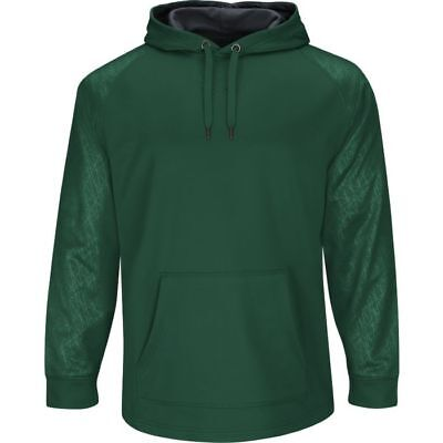Majestic Youth Home Plate Hooded Tech Fleece Pullover
