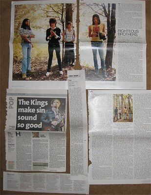 KINGS OF LEON clippings / cuttings  UK  INTERVIEW