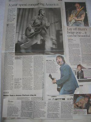 JAMES BLUNT - UK clippings /cuttings INTERVIEW