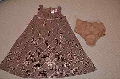 Baby GAP girl's dress and panties set 100% cotton - 5 years