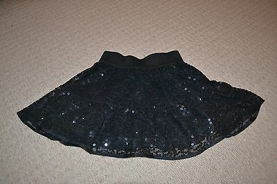 girl's Next party black sequined skirt
