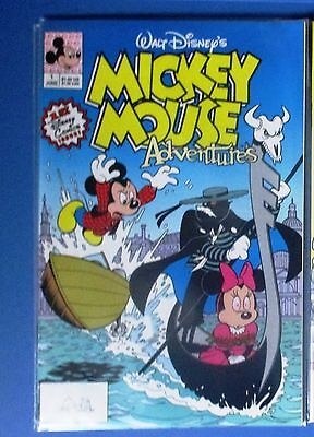 MICKEY MOUSE ADVENTURES #1 (Disney Comics, First Issue) 1990