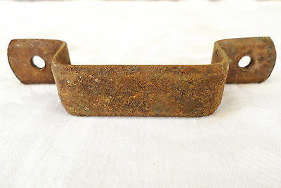 Antique Vintage Metal Drawer Door Handle Pull Hardware Repurpose Rustic!