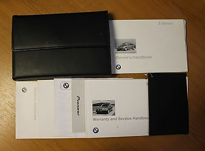 Bmw 3 Series E36 Handbook Owners Manual Wallet For 1991-1996 Cars  Ref5279