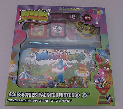 7-in-1 Accessory Pack Moshi Monsters  Nintendo 3DS/DSi/DS Lite NEW IN BOX
