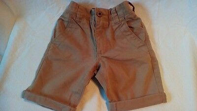 NEXT BOYS LONG CHINO SHORTS AGE 5 years