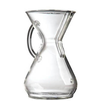 Chemex 6-8 Cup Glass Handle Coffee Maker