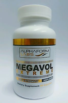 AlphaForm Labs Megavol Extreme 90 Caps huge mass builder