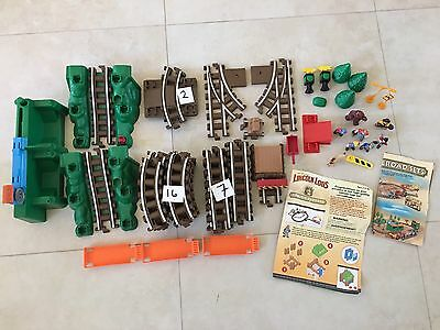 Huge Lot of Lincoln logs train tracks and acessories
