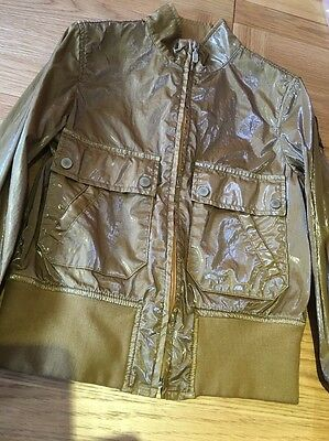 Belstaff Jacket Junior Girl Avon Blousen Burn Brown Size Age 8 Bnwt Kids
