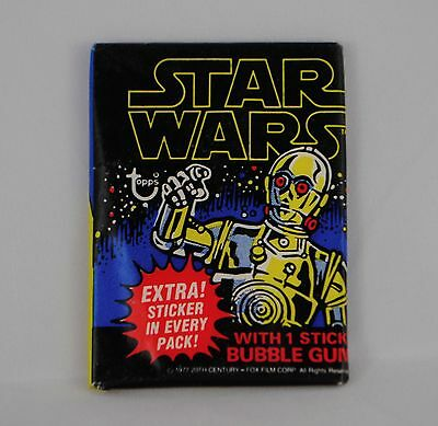 1977 Topps Series 1 Vintage Star Wars 12 Wax Pack Unopened Psa Candidates